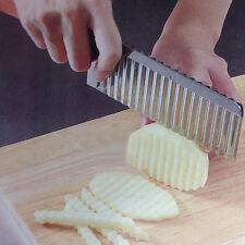 couteau ondulé-couteau pomme de terre-décoration cuisine-couteau patate-cuisine