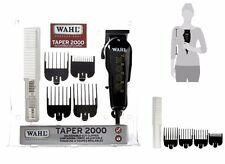 Wahl Professional Taper 2000 Adjustable Cut Clipper #8472-850 Black Blade Set