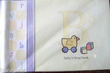 """Pepperpot Alphabet Squares Baby'S Brag Book -Holds 24- 4"""" X 6"""" Photos-Great Gift"""