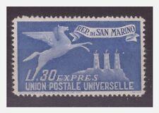 SAN MARINO 1946 -   ESPRESSO LIRE 30  -    NUOVO  **