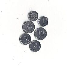 *MALDIVE ISLANDS*Lot of 3 coins*2012* FISH * SAILING SHIP * PALM TREE *UNC*Oc15*