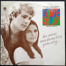 Oscar Win Score! Francis Lai LOVE STORY film soundtrack OST LP 70 O'Neal MacGraw