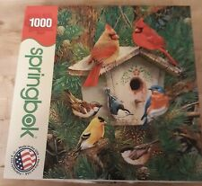 Springbok 1000 Piece Puzzle Feathered Retreat