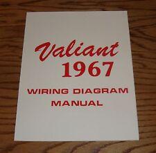 1967 Plymouth Valiant Wiring Diagram Manual 67