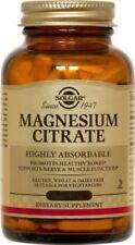 Magnesium Citrate Solgar 120 Tabs