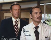 RICHARD ANDERSON SIGNED AUTOGRAPHED PHOTO THE BIONIC WOMAN