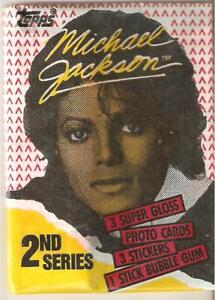 Michael Jackson , trading cards  pack, 1984