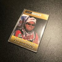John Force Singed Autographed NHRA sealed 2000 Hasbro Trading Card