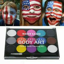 Face Paint Kit for kids, Hypoallergenic, Pregnancy Belly Painting Kit 15 Colors