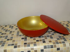 Tupperware C 163 Allegra 5,0 l rot-gold NEU