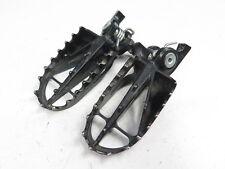 2004-2011 Honda CRF250R CRF450R CRF450X CRF250X OEM Foot Pegs (Stock Footpegs)