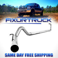 "MBRP 4"" Exhaust 03-07 For Ford Powerstroke 6.0L F250 F350 NO Muffler"