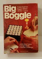 Vntg Big Boggle Parker Brothers Bigger Hidden Word Cube Game 1979 Complete #115