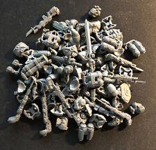 40k Space Marine Huge Bits Lot Incl. Chests, Power Swords, Lasguns, Storm Shield