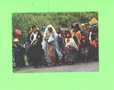 R POSTCARD BODA DE PUEBLO TYPICAL WEEDING GUATEMALA C A
