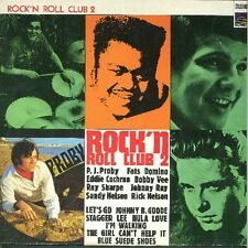 """12"""" Rock`n Roll Club 2 Fats Domino,Bobby Vee,Ray Sharpe 60`s Coucher du soleil"""