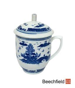 Pagoda Garden Porcelain Mug