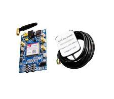 1PCS Quadband SIM808 GPS GSM GPRS Module Board L-shape Antenna Replace SIM908 NE