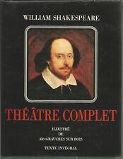 WILLIAM SHAKESPEARE THEATRE COMPLET + PARIS POSTER GUIDE
