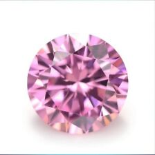 Huge Pink Sapphire 45.78Ct 20MM Round Faceted Cut AAAAA Loose Gemstone