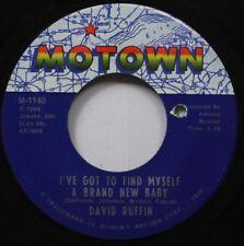 Soul 45 David Ruffin - I'Ve Got To Find Myself A Brand New Baby / My Whole World