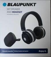 Set casque audio et enceinte Bluetooth Blaupunkt BLP1700 neuf