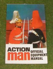 VINTAGE ACTION MAN 40th OFFICIAL EQUIPMENT MANUAL LIFEGUARDS BLUES & ROYALS