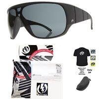 NEW Electric Shaker Mens Matte Black Grey Lens Sunglasses Msrp$120