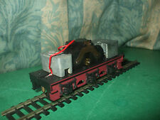 HORNBY LMS DUCHESS OR BLACK 5 RED MOTORISED TENDER DRIVE CHASSIS ONLY - No.1