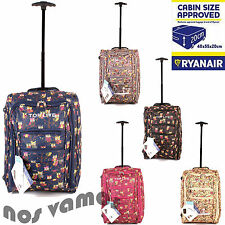 Women's Synthetic Up to 40L Luggage with Extra Compartments