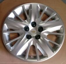 CHEVY IMPALA 2014 - 2018 Silver OEM 18 Inch Wheel Hubcap 3299  20955586