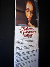 LA MAITRESSE DU LIEUTENANT FRANCAIS meryl streep   affiche cinema