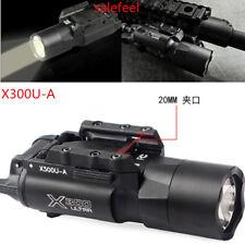 Tactical LED X300U-A 500 Lumens Flashlight Light Fit 20mm Picatinny Rail Rifle