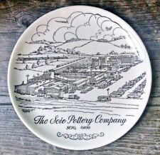 """The Scio Pottery Company Commemorative Plate 1961 9.25"""""""