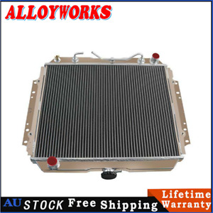 3Row Radiator For 87-97 Holden Rodeo TF G1 G6 G3 2.2L 2.6L G7 PETROL 4CYL AT/ MT