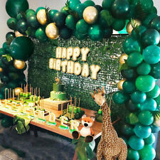 Balloon Arch Garland Kit Jungle Safari Green Baby Birthday Wedding Party Decor