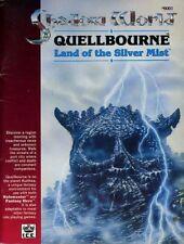 SHADOW WORLD QUELLBOURNE LAND OF THE SILVER MIST VGC! #6001 Module Rolemaster