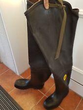 Bekina Watstiefel Gr. 45  wader boots schwarz black Military Waders Bekina Light