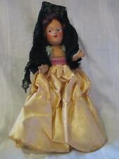 Vintage Composition lady doll all original 1940's oil cloth shoes gorgeous