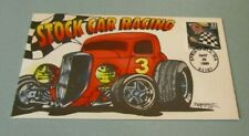 1999 Stock Car Racing Ron Beller Art Postal Cachet Cover Limited to 125 Sports