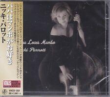 """Nicki Parrott Papa Loves Mambo"" Japan Venus Records 2019 Audiophile Jazz CD New"
