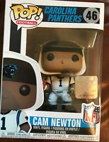 Funko Pop NFL Wave 4 Carolina Panthers Cam Newton #46 Vinyl Figure NIB New