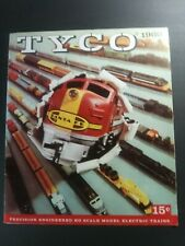 Vintage TYCO H-O Electric Trains 1960 Catalog