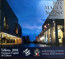 More details for malta coins set 2018 year set official issue bunc new in folder