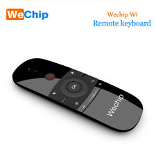 Wechip W1 Keyboard Mouse Wireless 2.4G Fly Air Mouse Rechargeble Mini Remote