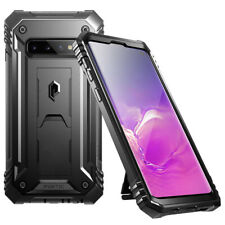 For Samsung Galaxy S10 (2019) Case Poetic Full Cover with Screen Protector Black