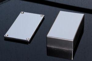 Hammond Eddystone 1590B Chrome pulverbeschichtet Aluminium Gehäuse Alu Enclosure