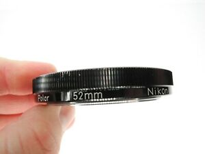 Nikon Japan Polar Polarizer 52mm Camera Lens Filter (READ!!!)