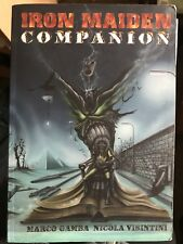 Iron Maiden Companion Rare Collectors Book Not Tour Programme Or Vintage T Shirt