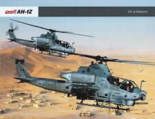 BELL AH-1Z 2015 HELICOPTER MILITARY BROCHURE PROSPEKT FOLDER